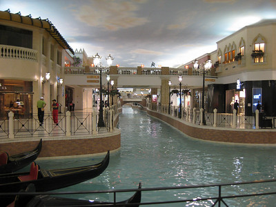 Inside the Villagio Mall.